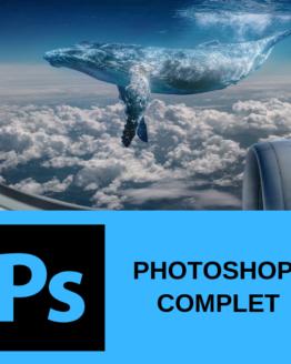 Découvrir la formation photoshop complet sur formation.leszbres nomades