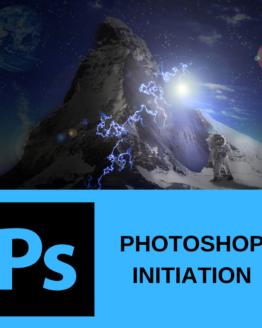 Découvrir la formation photoshop initiation sur formation.leszbres nomades